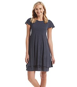 Kensie® Short Sleeve Swing Dress