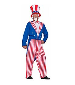 Uncle Sam Plus Size Adult Costume