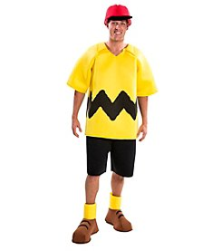 Peanuts® Charlie Brown Deluxe Adult Costume