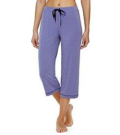 Cuddl Duds® Printed Pajama Capris