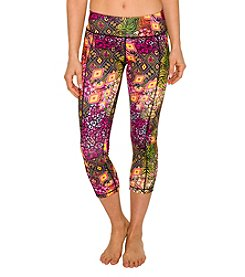 Betsey Johnson® Performance Cheetah Crop Leggings