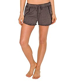 Betsey Johnson® Performance Ruffle Hem Shorts
