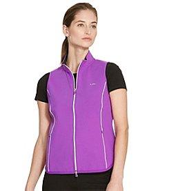 Lauren Ralph Lauren® Petites' Jersey Full-Zip Vest