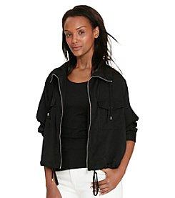 Lauren Ralph Lauren® Petites' Charmeuse Utility Jacket