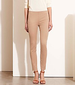 Lauren Ralph Lauren® Petites' Stretch Cotton Skinny Pants