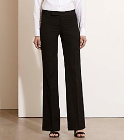 Lauren Ralph Lauren® Petites' Stretch Twill Flared Pants