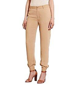 Lauren Ralph Lauren® Petites' Crepe Tapered-Leg Pants