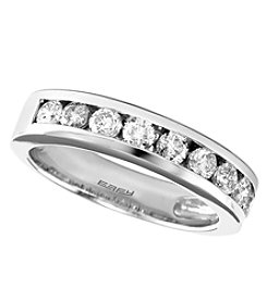 Effy® 0.75 Ct. T.W. Diamond Ring 14K White Gold