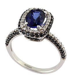 Effy® Royale Bleu Collection Sapphire Ring In 14K White Gold