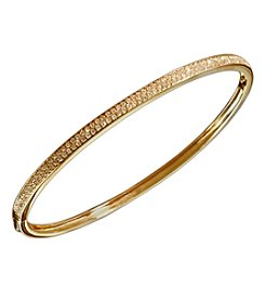 Effy® Trio Collection 0.57 Ct. T.W. Diamond Bangle In 14K Yellow Gold
