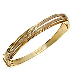 Effy® D'Oro Collection 0.98 Ct. T.W. Diamond Bangle In 14K Yellow Gold