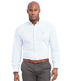 Polo Ralph Lauren® Men's Big & Tall Long Sleeve Oxford Button Down Shirt