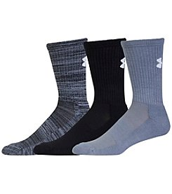 Under Armour® Men's Twist Crew 3-Pack Socks
