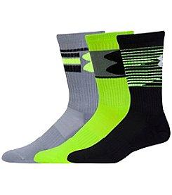 Under Armour® Men's Neo Pulse 3-Pack Crew Socks