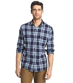 Izod® Men's Harbor Twill Long Sleeve Button Down Shirt