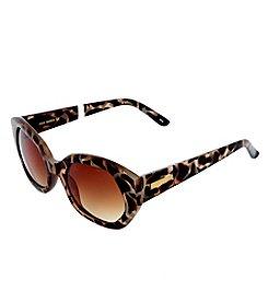 Steve Madden Oversized Geo Sunglasses