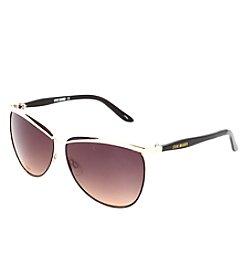 Steve Madden Oval Metal Frame Sunglasses