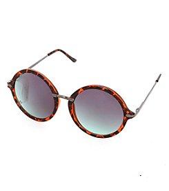 Steve Madden Retro Round Sunglasses