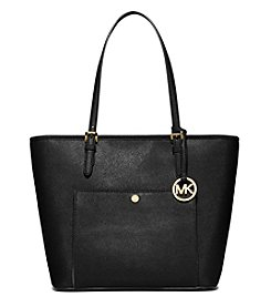 MICHAEL Michael Kors® Jet Set Large Top Zip Snap Pocket Tote