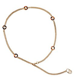 MICHAEL Michael Kors® Chain Belt With Tortoise Ornaments