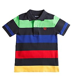 Chaps® Boys' 2T-7 Short Sleeve Multicolor Stripe Polo
