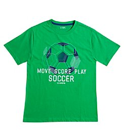Chaps® Boys' 8-20 Short Sleeve Move Score Play Soccer Tee