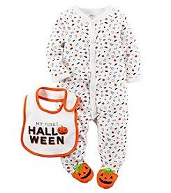 Carter's® Baby Halloween Footie With Bib