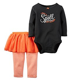 Carter's® Baby Girls' 2-Piece Spell On Daddy Set