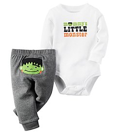 Carter's® Baby Boys 2-Piece Little Monster Bodysuit And Pants Set