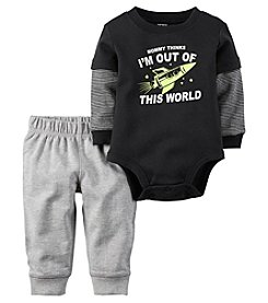 Carter's® Baby Boys 2-Piece Out Of This World Bodysuit And Pants Set