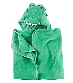 Carter's® Baby Boys Alligator Puppet Towel