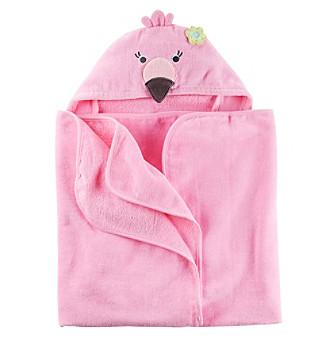 Carter's® Baby Girls' Flamingo Puppet Towel