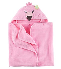 Carter's® Baby Girls' Flamingo Puppet Towel