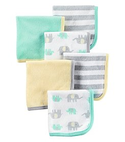 Carter's® Baby 6-Pack Elephant Washcloths