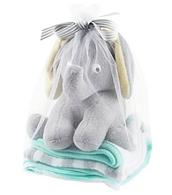 Carter's® Baby Elephant Toy & Washcloth Set