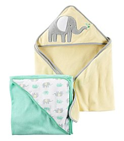 Carter's® Baby 2-Pack Elephant Hooded Towels