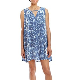 My Michelle® Tie-Dye Shift Dress