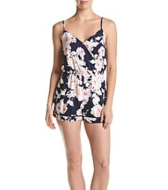 Be Bop Juniors' Rose Floral Romper