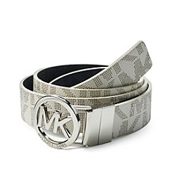 MICHAEL Michael Kors® MK Logo Buckle Reversible Belt
