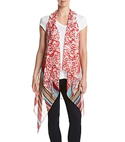 Collection 18 Ikat Brush Strokes Vest
