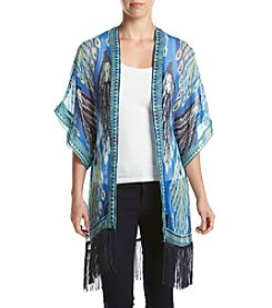 Collection 18 Feathers Kimono