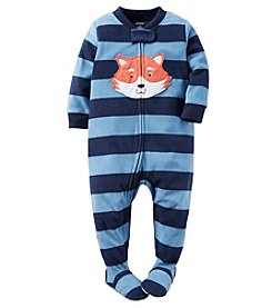 Carter's® Boys' 12M-12 One Piece Fleece Fox Sleeper