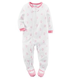 Carter's® Girls' 12M-4T One Piece Ballerina Sleeper