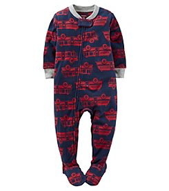Carter's® Boys' 12M-4T One Piece Firetrucks Sleeper