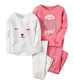 Carter's® Girls' 12M-12 4-Piece Dream Girl Pajama Set
