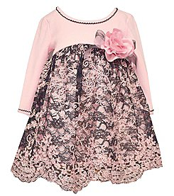 Bonnie Jean® Baby Girls' Floral Lace Dress