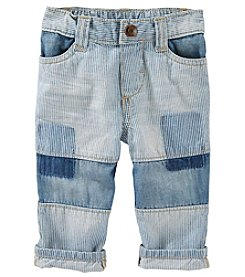 OshKosh B'Gosh® Baby Boys Patched Denim Ozark