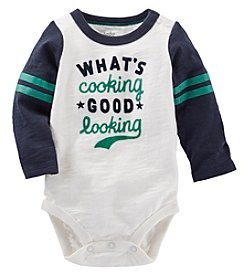 OshKosh B'Gosh® Baby Boys' Whats Cooking Good Looking Bodysuit