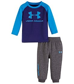 Under Armour® Baby Boys 2-Piece Long Sleeve Tee And Joggers Set