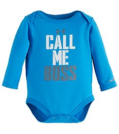 Under Armour® Baby Boys Call Me Boss Bodysuit